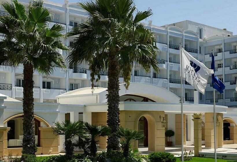 exterior mitsis grand hotel rhodes rodas