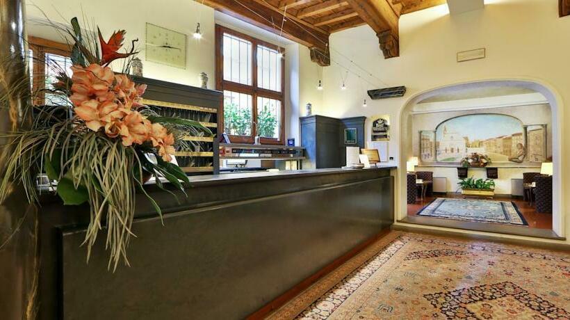 Recepción Hotel Rivoli Florencia
