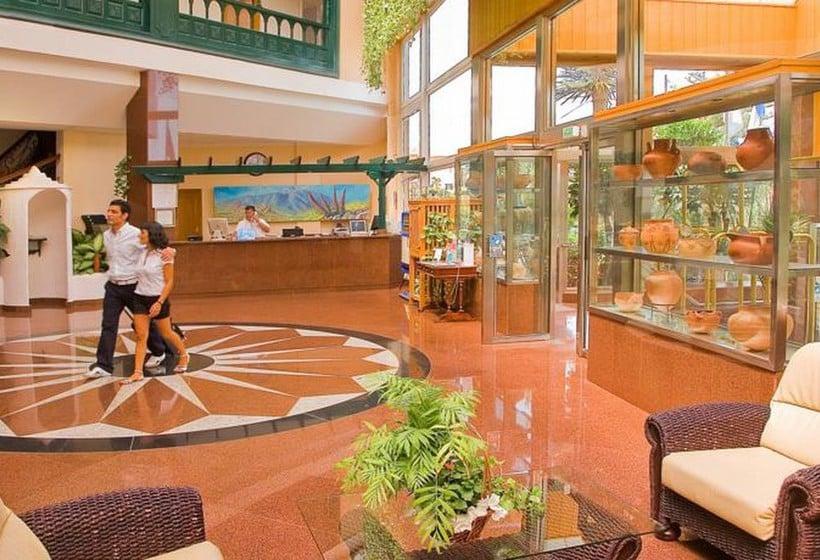 Recepción Diverhotel Tenerife Spa & Garden Puerto de la Cruz
