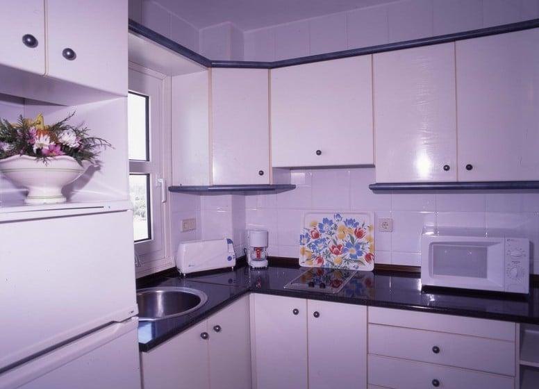 Cocina Apartamentos Fenix Beach Roquetas de Mar