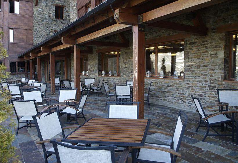 Terraza Hotel Saliecho Formigal