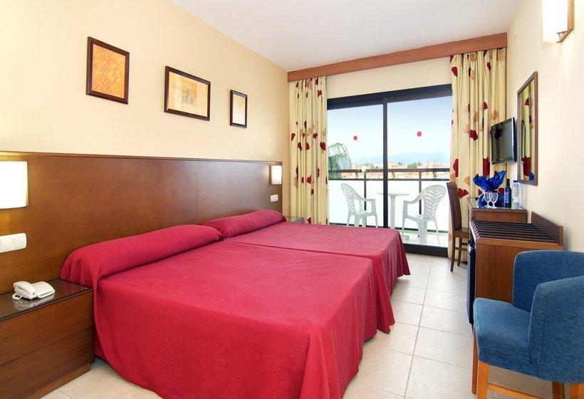 Puente real hotel apartamentos en torremolinos destinia - Apartamentos baratos torremolinos ...
