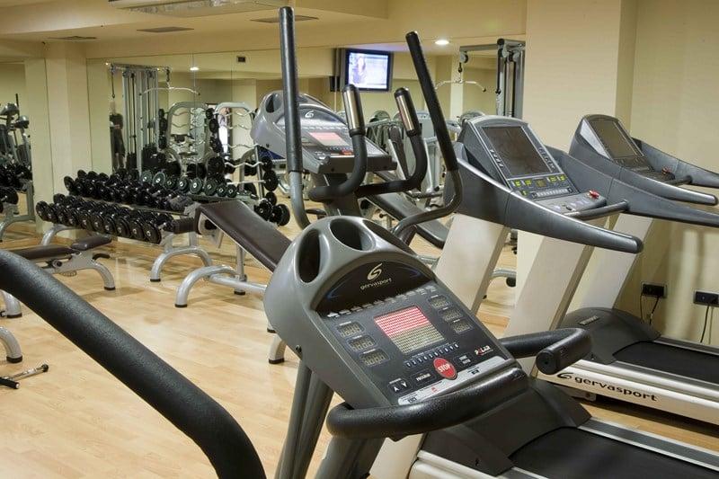 Instalaciones deportivas Gran Talaso Hotel Sanxenxo