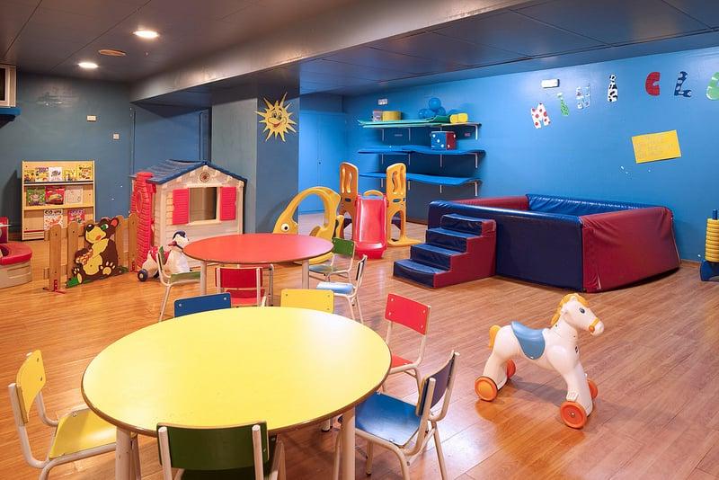 Instalaciones infantiles Hotel H Top Calella Palace