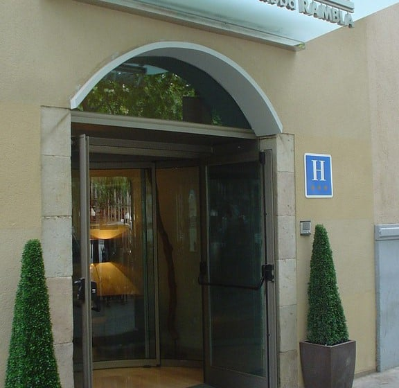 Exterior Hotel Abba Rambla Barcelona