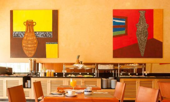 Cafetería Hotel Eurostars San Lazaro Santiago de Compostela