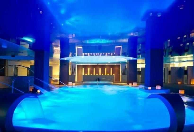 Hotel ar diamante beach spa en calpe destinia for Hotel spa familiar