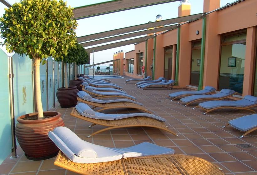 Terraza Hotel Apartamento Martin Alonso Pinzón Mazagón