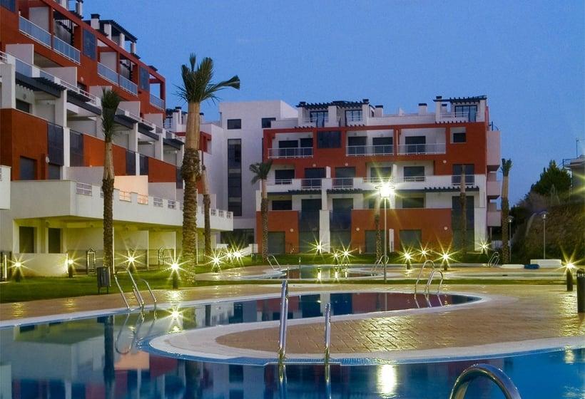 Apartamentos marina rey ii en vera destinia for Hoteles en vera