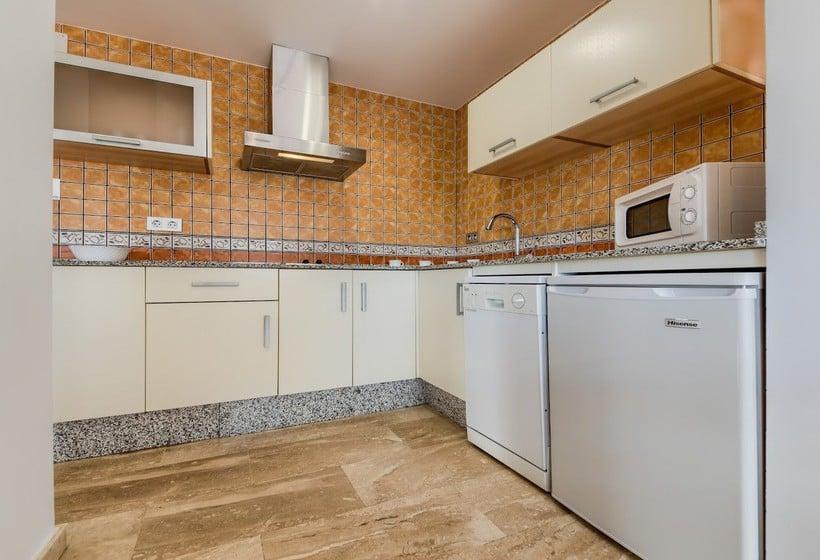 Cocina Loto Conil Hotel Apartamentos Conil de la Frontera