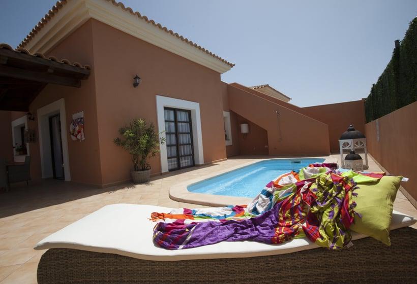 The view hotel resort gourmet resort en corralejo destinia for Villas con piscina privada en fuerteventura