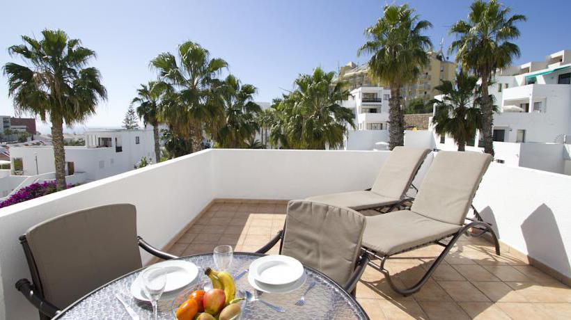 Terraza Apartamentos Sunset Bay Club Costa Adeje