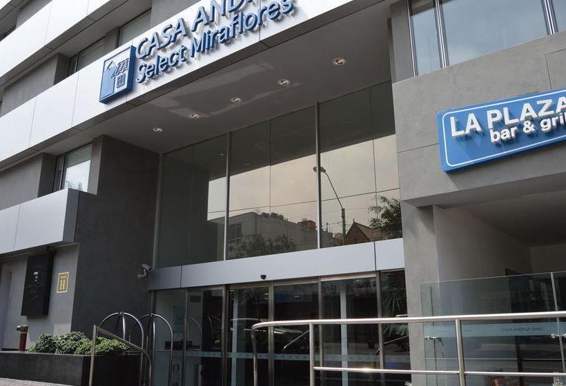 Hotel casa andina select miraflores en lima destinia for Casa andina select lima
