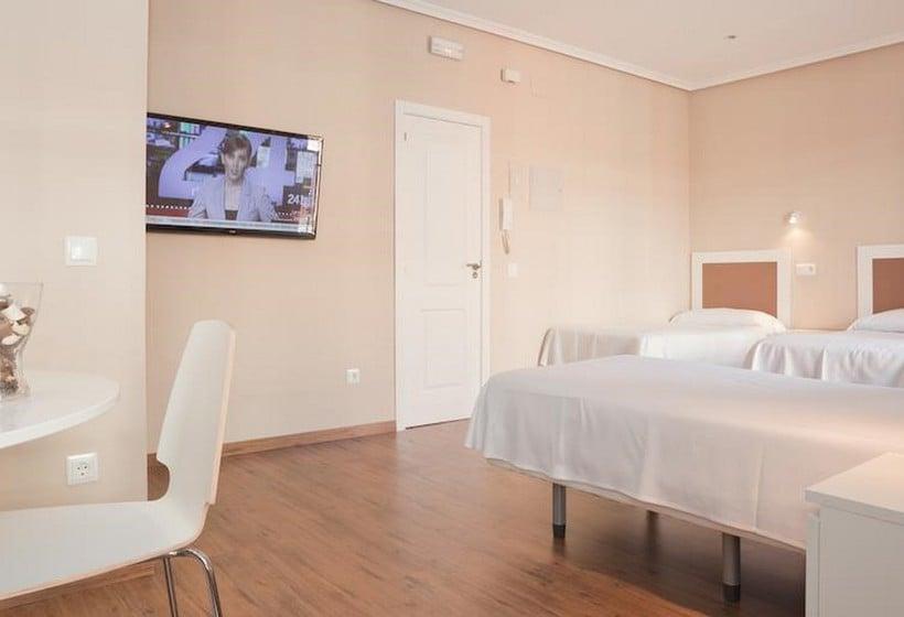 Habitación Sol Square Apartments Madrid