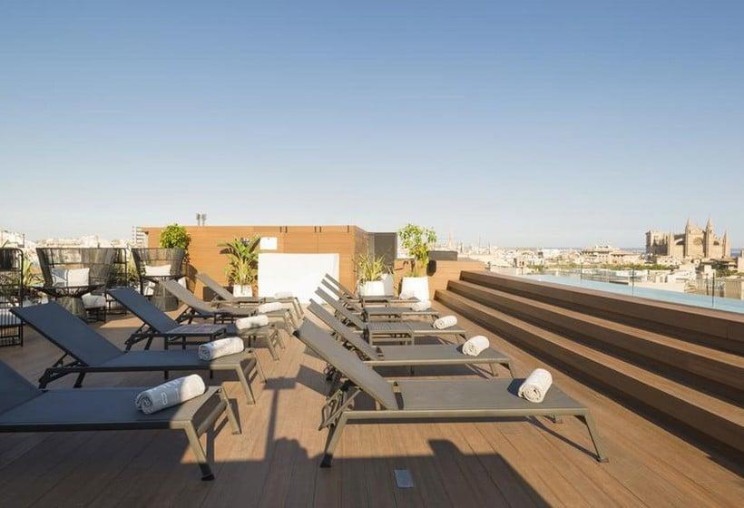 Terraza Hotel Nakar Palma de Mallorca