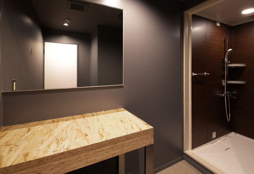 Cuarto de baño Hotel Cápsula Booth Netcafe & Capsule Shinjuku-Ku