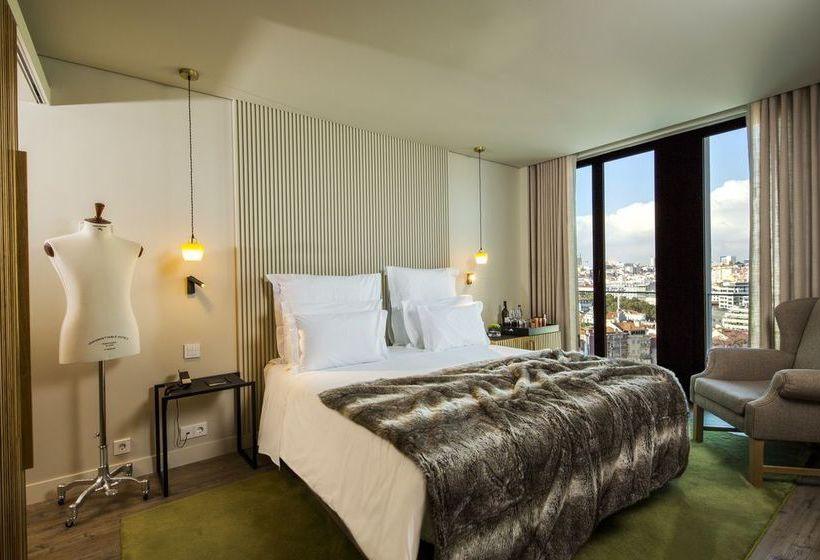 Habitación Hotel Memmo Príncipe Real Lisboa