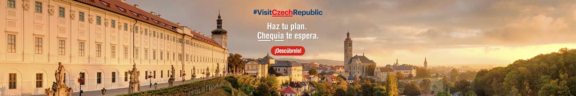 Haz tu plan. Chequia te espera
